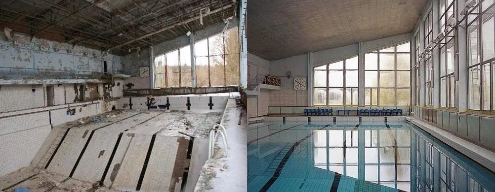 pool in pripyat - Chernobyl: 30 anos depois o reator ainda tem o poder de matar