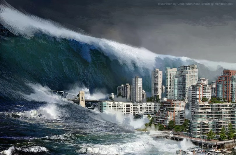 tsunami futuro do planeta - Revista Nature: A humanidade tem apenas 3 anos para salvar o Futuro do Planeta Terra