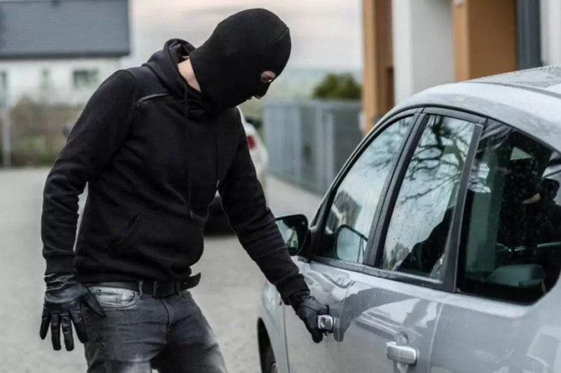 Veículos roubados no Brasil