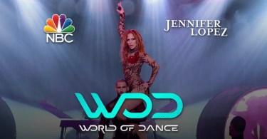World of Dance jheniffer lopes nbc concurso de dança programa de tv 5 - Homem invade palco e dá golpe em segurança de Britney Spears