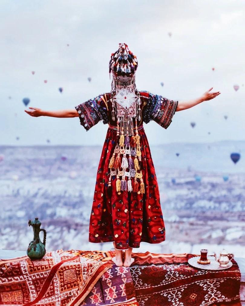 imagens impressionantes10 - Fotos impressionantes de meninas com vestidos em cenários deslumbrantes