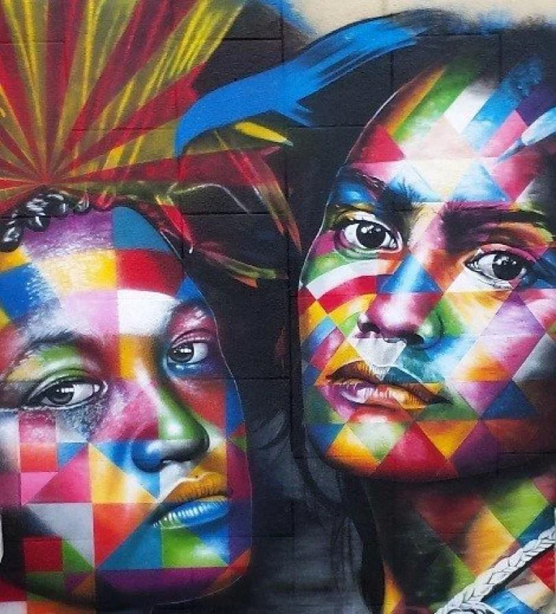 Fotos, Curiosidades, Comunicação, Jornalismo, Marketing, Propaganda, Mídia Interessante kobra-taiti2 Murais de Graffiti de Eduardo Kobra pelo mundo Fotos e fatos Turismo  Murais de Graffiti eduardo kobra