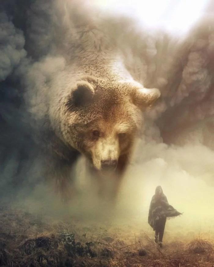 animals gigants 03 - Photoshop: Imagine um mundo com animais gigantes