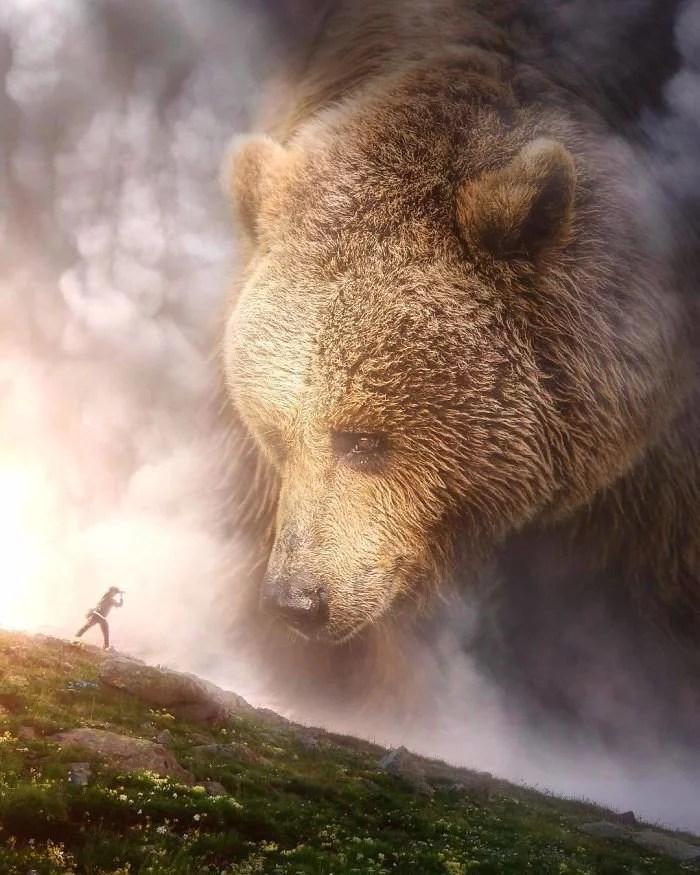 animals gigants 21 - Photoshop: Imagine um mundo com animais gigantes