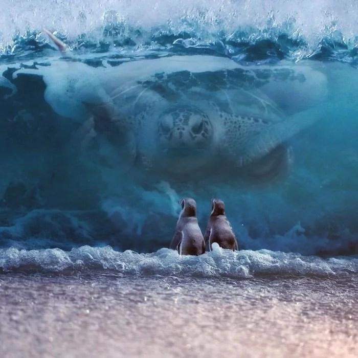 animals gigants 23 - Photoshop: Imagine um mundo com animais gigantes