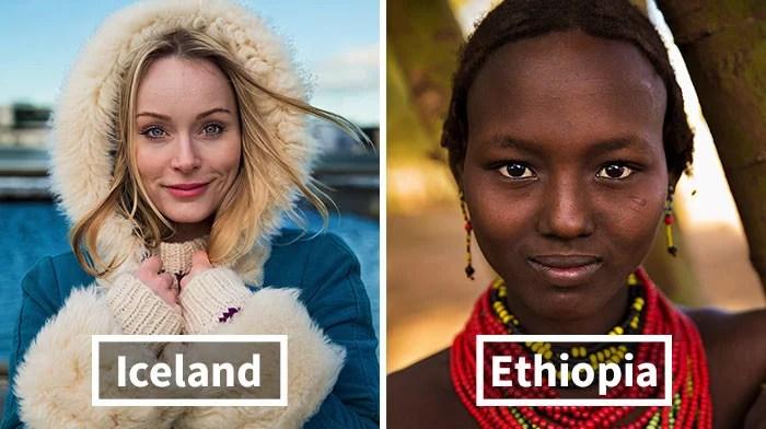 mulheres todo mundo diferentes nacionalidades 01 - Projeto de fotógrafa romena propõe tirar fotos de mulheres pelo mundo