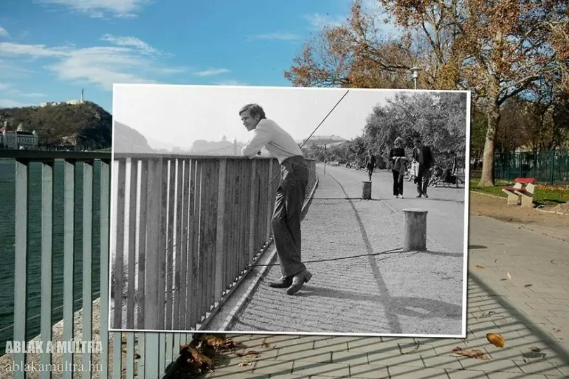 Photographer joins the present and the past in an image and the result is incredible 5b46783e6f864  880 - Fotografias mostram o mesmo lugar anos atrás