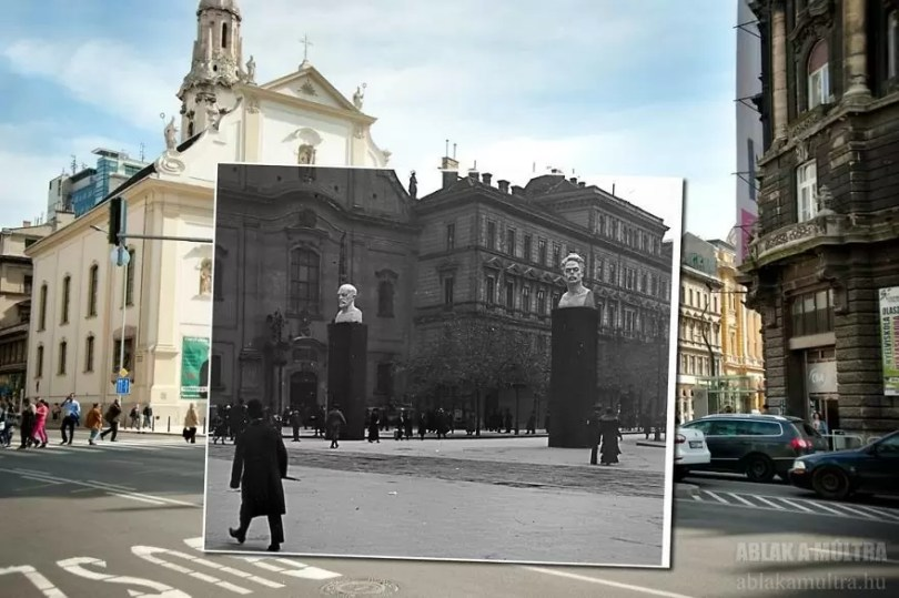 Photographer joins the present and the past in an image and the result is incredible 5b46faa310875  880 - Fotografias mostram o mesmo lugar anos atrás