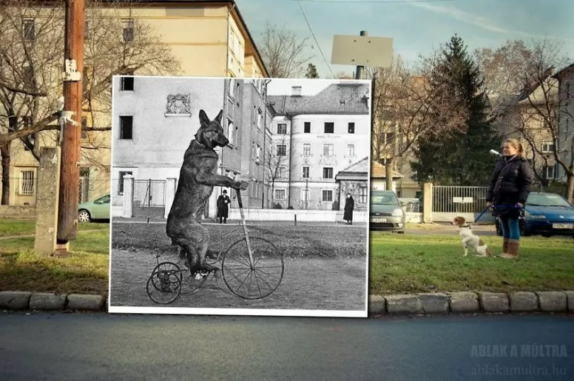 Photographer joins the present and the past in an image and the result is incredible 5b46faee4d5c1  880 - Fotografias mostram o mesmo lugar anos atrás