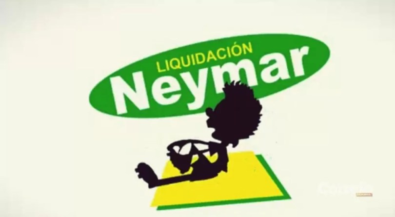 liquidação Neymar