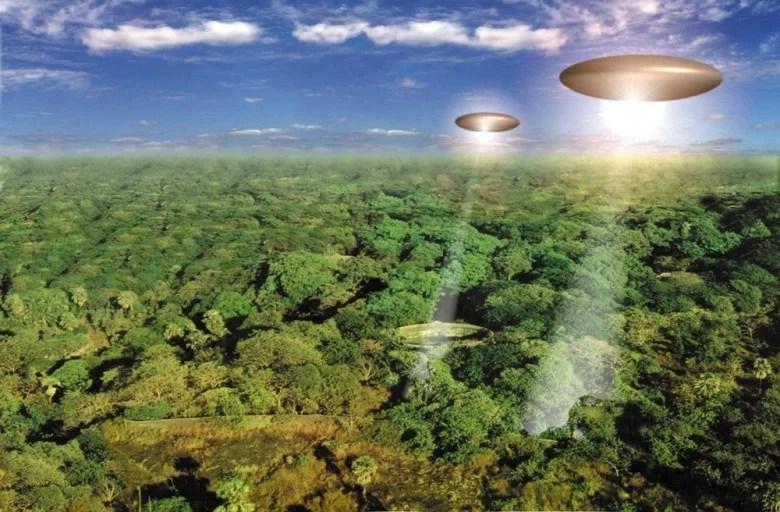 amazonia ufo - ETs têm interesse especial pela Amazônia