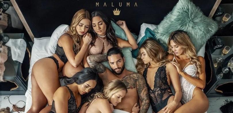 maluma mala mia 2 - Erros de photoshop no álbum de Maluma