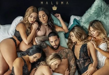 maluma mala mia 2 - Erros de photoshop no álbum de Maluma