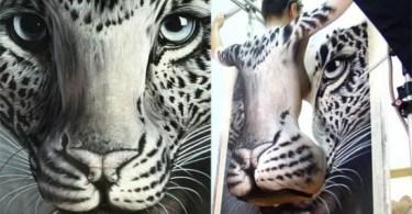 Craig Tracy body painting illusions 10 1 - Projeto fotográfico de pessoas que vivem nas ruas