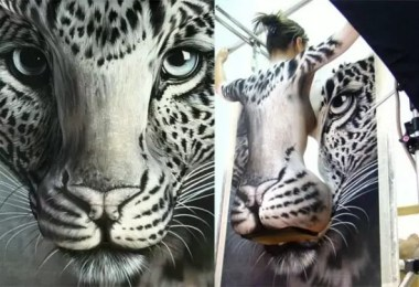 Craig Tracy body painting illusions 10 1 - Craig Tracy: Pintura corporal cria ilusões ópticas insanas