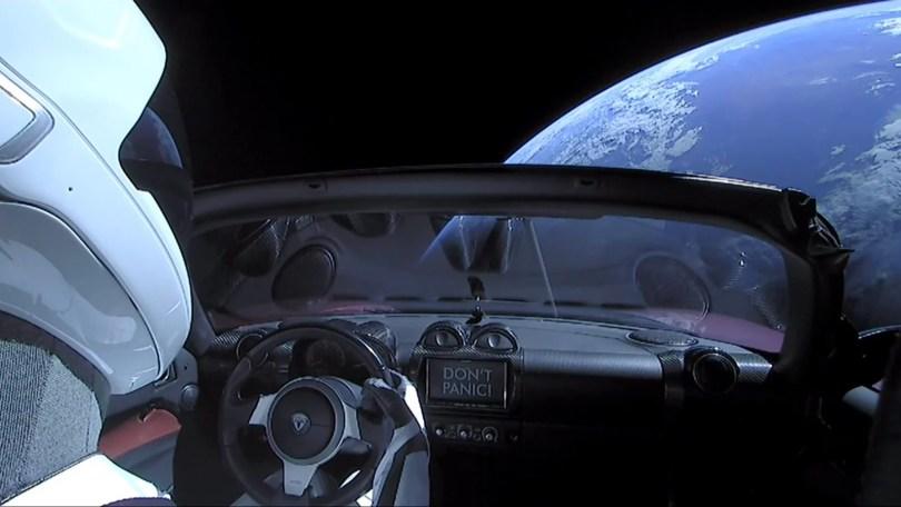 """starman onde ele esta - Onde está atualmente o Tesla Roadster com o """"Starman"""" no espaço?"""