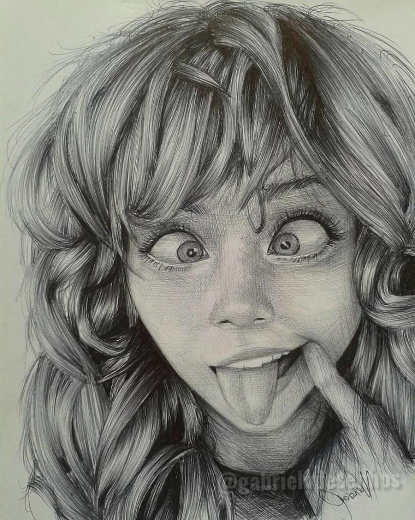 Artista Brasileira Cria Desenhos Que Visualizam Perfeitamente As Emoções Das Pessoas 31 - Brasileiro cria desenhos que visualizam perfeitamente as emoções das pessoas