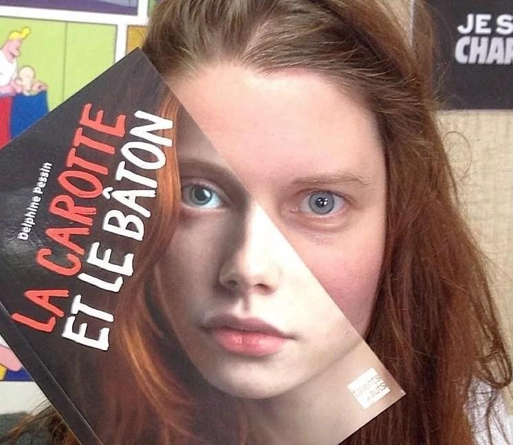 capa rosto livraria mollat diversão - Funcionários entediados de livraria se divertem com capa de livros #Parte 2