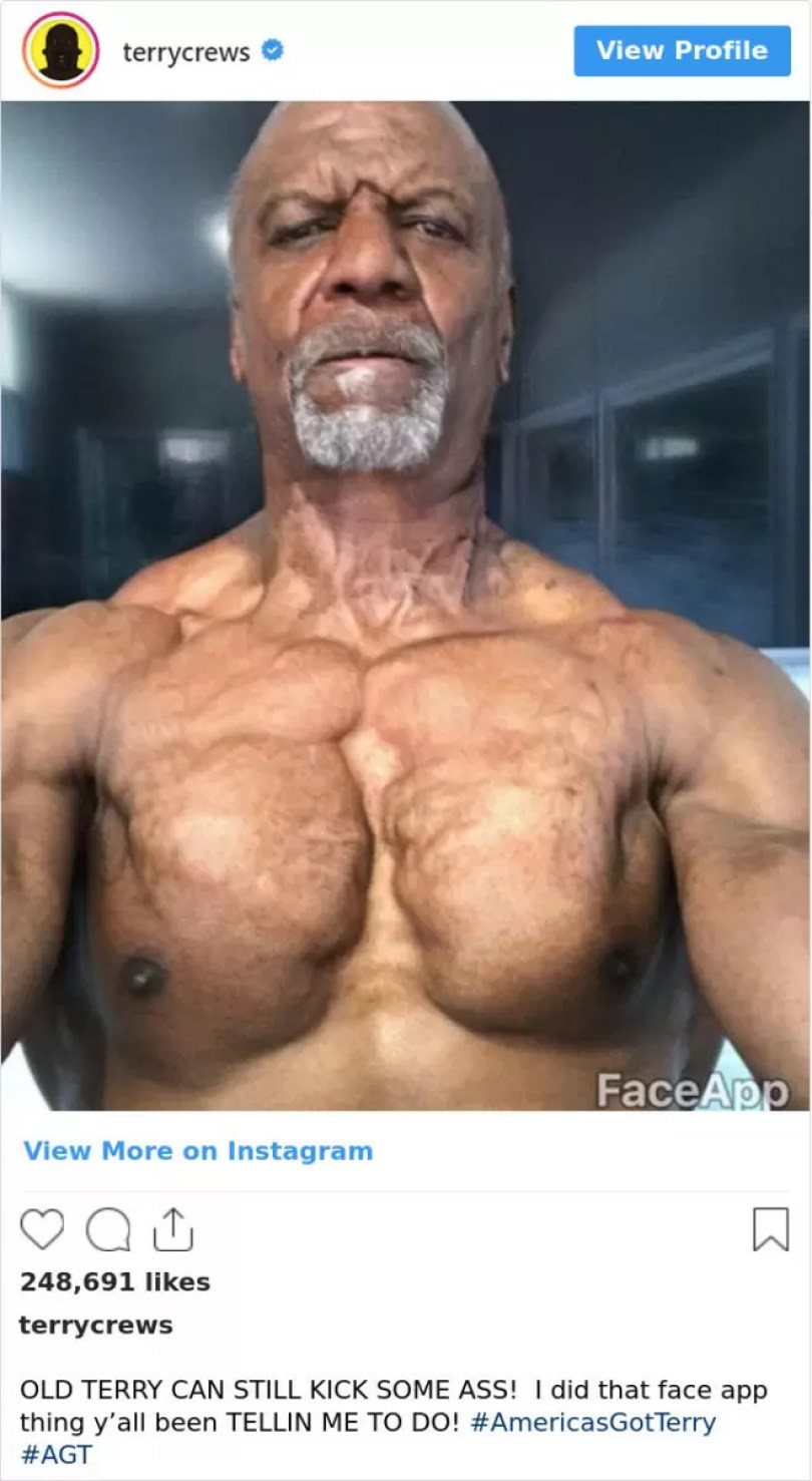 aplicativo face up deixa as pessoas velhas famosos no futuro 5 - FaceApp: Famosos mais velhos fazem sucesso nas Redes Sociais