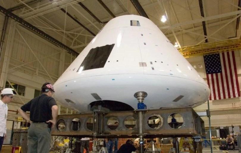 orion capsula leva homem a lua - NASA testa cápsula para salvar vida de Astronautas caso houver erro