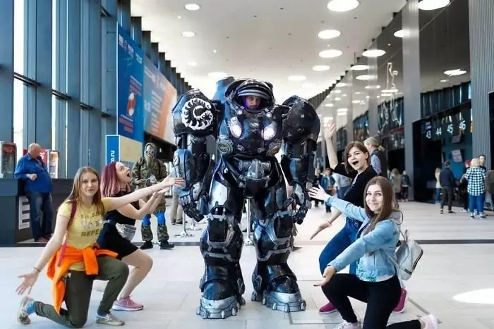 russia cosplay - Melhores cosplays da Russia Starcon 2019