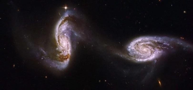via lactea engolindo outra - Via Láctea devorou outra galáxia bilhões de anos atrás, diz estudo