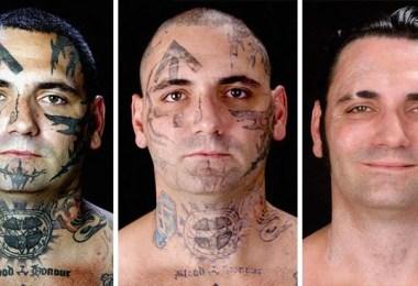 remover tatuagem - Relembre o ex-Skinhead que se arrependeu de suas tatuagens depois de ser pai