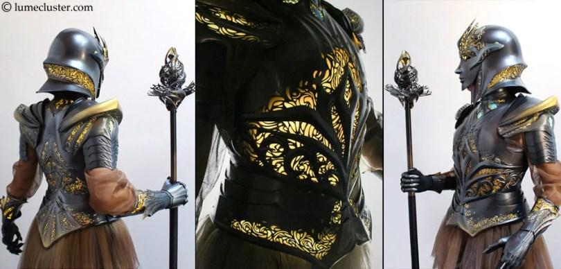 3D impresso - Fantasia de armadura feito em 3D é o sonho de todo cosplay