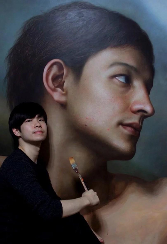 Parece Real Pintor sul coreano faz obras hiper realistas chocantes Joongwon Jeong4 - Parece Real: Pintor sul-coreano faz obras hiper-realistas chocantes!