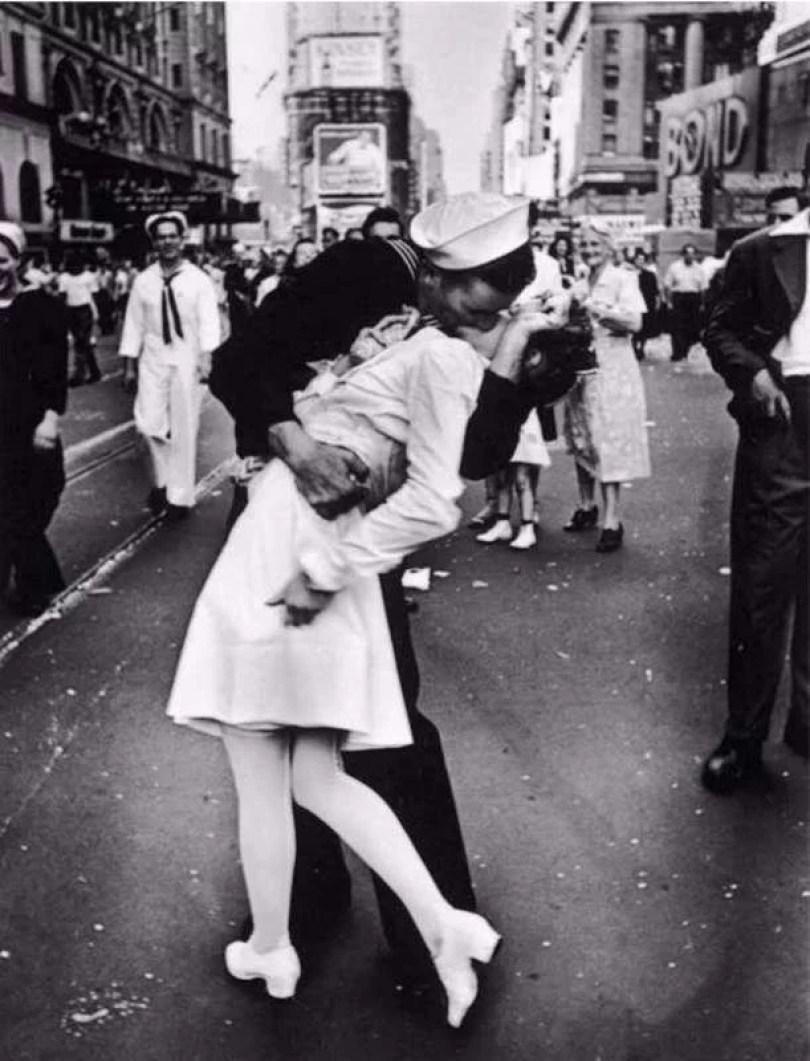il bacio rubato a times square 924208 - Qual foi o primeiro beijo da história? O mais antigo?