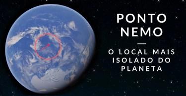 ponto nemo - Qual o lugar mais distante de tudo e de todos?