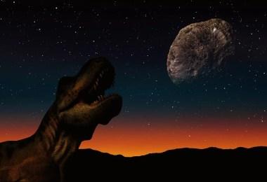 asteroide preigoso - Astrofísica disse que Dinossauros viveram do outro lado da galáxia e confunde pessoas