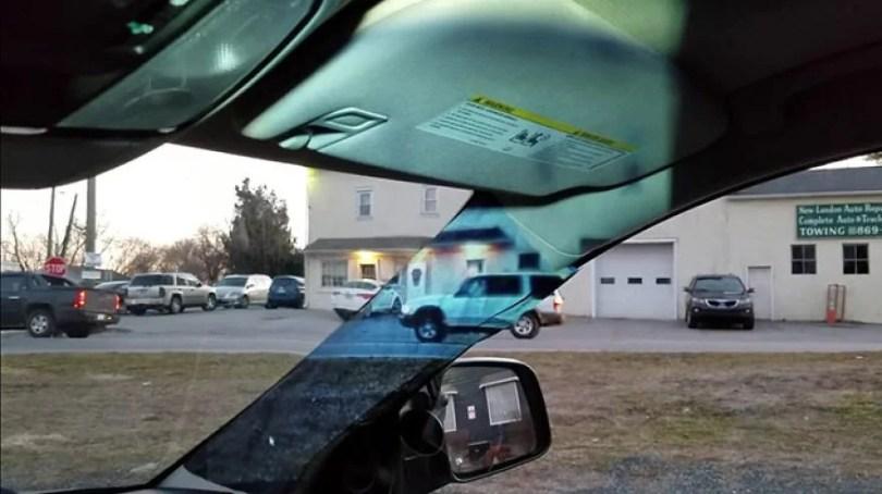 pontos cego dos carros - Menina de 14 anos encontra maneira de resolver pontos cegos nos carros
