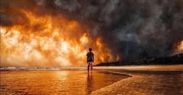 Internet compatilha 50 fotos que revelam as queimadas na Austrália - Bilionário Japonês que vai pra Lua quer doar 9 mil dólares a seguidores sortudos!