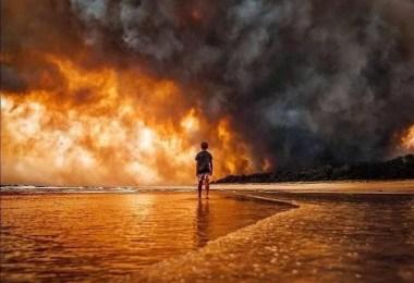 Internet compatilha 50 fotos que revelam as queimadas na Austrália - Internet compatilha 50 fotos que revelam as queimadas na Austrália