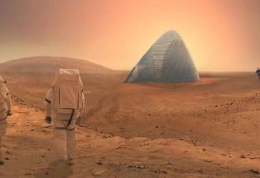 elon musk quer povoar marte com mais de 1 milhao de pessoas ate 2050 - Até 2050 cerca de 1 milhão de pessoas poderão viver em Marte!