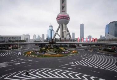 o dia em que a terra parou - O dia em que a China parou! 32 fotos das ruas vazias de Xangai durante o surto de Coronavírus