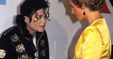 princesa e michael se conhecem - O dia em Michael Jackson conheceu a princesa Diana e o príncipe Charles