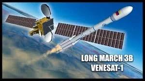 venesat 1 astelite que vaicair venezuela - Venezuela ficou parcialmente sem Televisão e Internet por causa de Satélite incontrolável