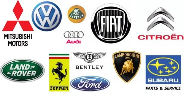 50 logos de carros em vetor download grátis 620x315 - Desafio - Desenhe logos conhecidas de memória