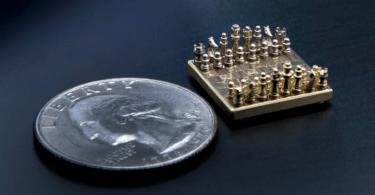 menor xadrez do mundo - O menor tabuleiro de xadres do mundo