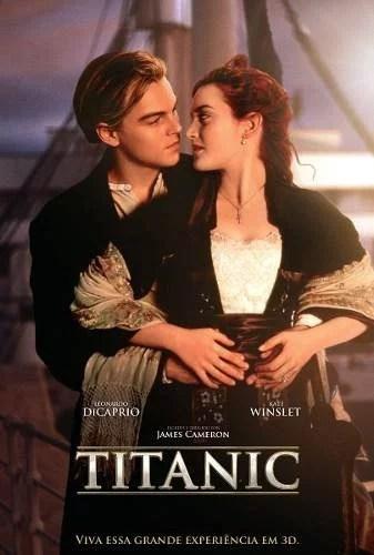 poster cartaz titanic - Maiores Bilheterias da História! (Tudo sobre as bilheterias)
