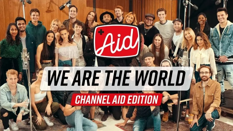 "we are the world - Canal do Youtube refaz vídeo ""We are the World"" em 2020"