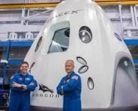crew dragon apace x capsulaastronauta lua - Reveja o lançamento SpaceX/NASA dos americanos na Crew Dragon