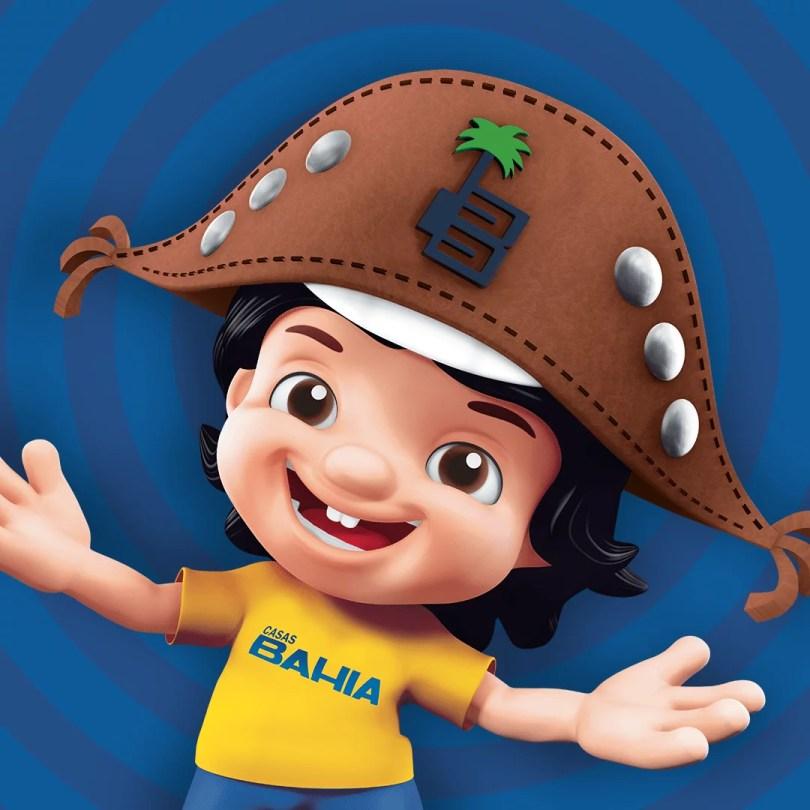 casas bahia bahianinho - Lojas Casas Bahia apresenta seu mascote de cara nova