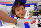cb casasbahia - Lojas Casas Bahia apresenta seu mascote de cara nova