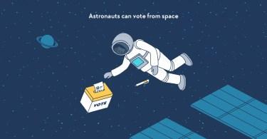 voto no espaço2 - É possível votar no espaço?