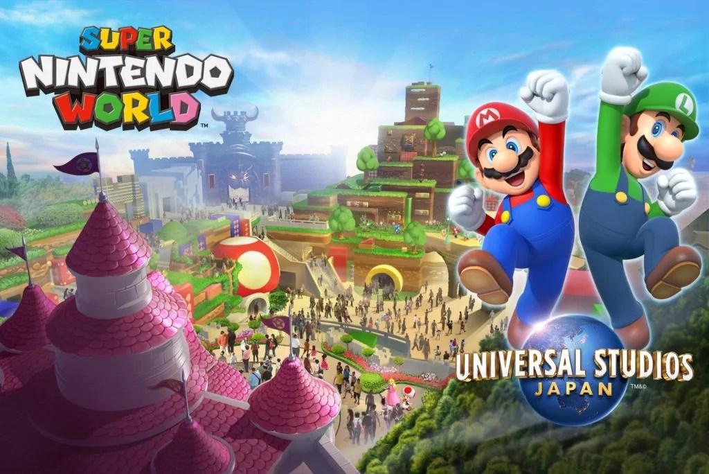 parque do mario nintendo disney universal mundo magico Nintendo Edited - Parque temático da Nintendo será a Nova Disney do Japão em 2021