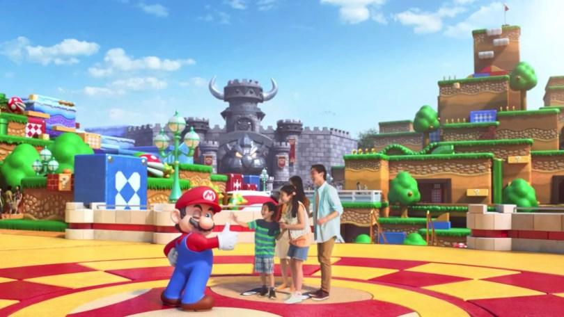 parque do mario nintendo disney universal mundo magico - Parque temático da Nintendo será a Nova Disney do Japão em 2021