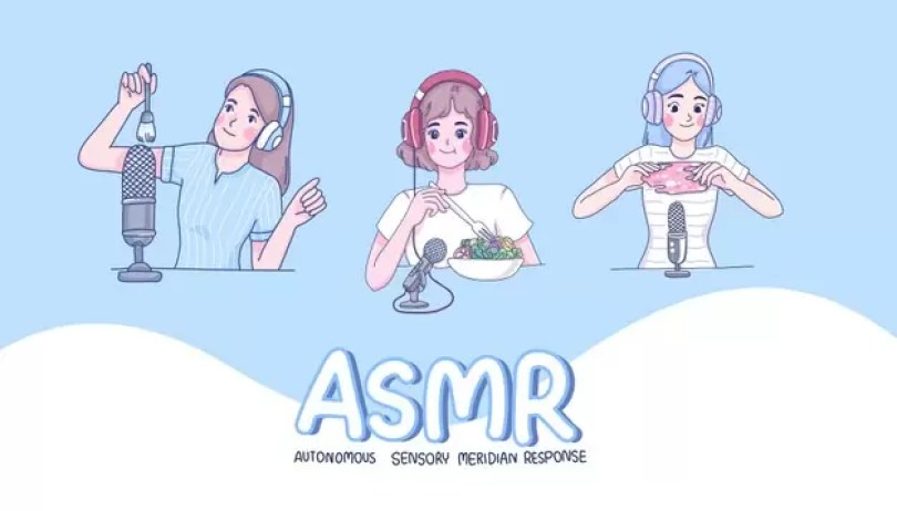 girls make asmr cartoon character 73842 434 - História do ASMR - Afinal, como surgiu o ASMR?